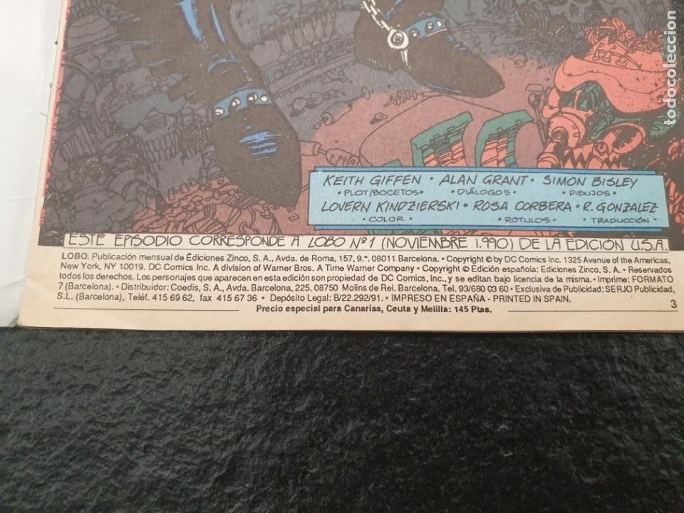 Cómics: Lobo El último Czarniano 1 de 4. Primera serie limitada de Lobo en solitario. DC - Zinco - Foto 3 - 207149763