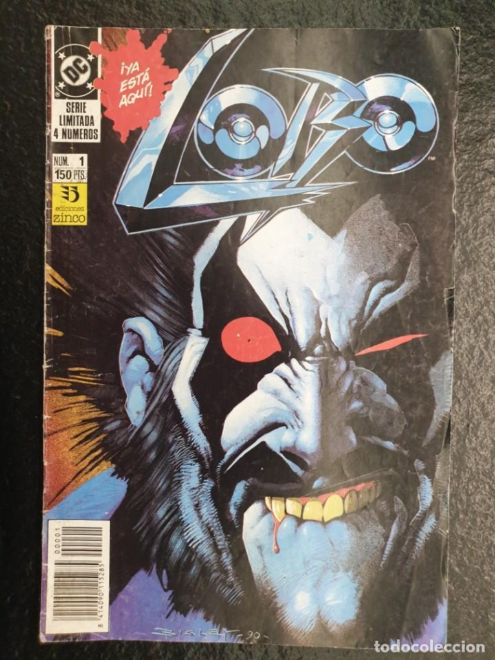 LOBO EL ÚLTIMO CZARNIANO 1 DE 4. PRIMERA SERIE LIMITADA DE LOBO EN SOLITARIO. DC - ZINCO (Tebeos y Comics - Zinco - Lobo)
