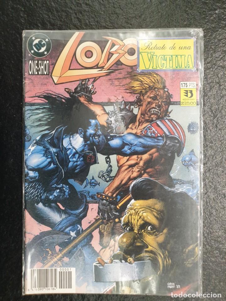 LOBO RETRATO DE UNA VÍCTIMA. ONE SHOT, NÚMERO ÚNICO. DC - ZINCO (Tebeos y Comics - Zinco - Lobo)