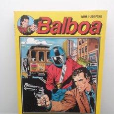 Cómics: BALBOA NUM. 1. LÓGICA DE UN HOMICIDIO. ZINCO.. Lote 207150420