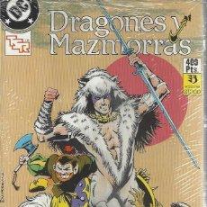 Cómics: DRAGONES Y MAZMORRAS - COMPLETA - 12 NºS EN 2 RETAPADOS - MUY BUEN ESTADO. Lote 207168588