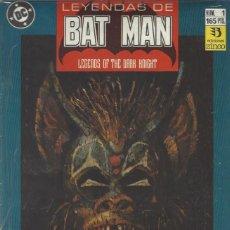 Cómics: LEYENDAS DE BATMAN - COMPLETA - 44 NUMEROS - BUEN ESTADO GENERAL. Lote 207183586