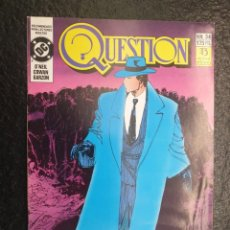 Cómics: THE QUESTION Nº 34. DC - ZINCO.. Lote 207198505