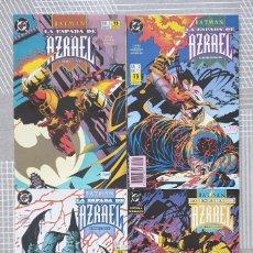 Cómics: BATMAN. LA ESPADA DE AZRAEL. SERIE LIMITADA COMPLETA DE 4 COMICS. ZINCO 1992. Lote 207276206