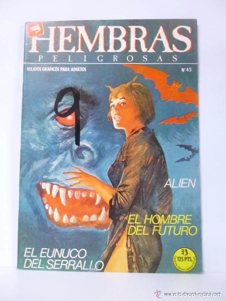 HEMBRAS PELIGROSAS N 45 - EDICIONES ZINCO - AÑO 1984 (Tebeos y Comics - Zinco - Otros)