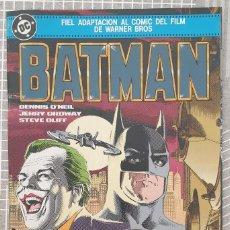 Cómics: BATMAN. ADAPTACION OFICIAL DEL FILM. NUMERO UNICO. ZINCO 1989. Lote 207459237