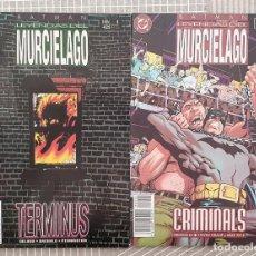 Cómics: BATMAN. LEYENDAS DEL MURCIELAGO. COLECCIÓN COMPLETA DE 2 COMICS. ZINCO 1995. Lote 207466833