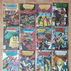 Cómics: LA PATRULLA CONDENADA. COLECCIÓN COMPLETA 16 COMICS. EDICIONES ZINCO 1988. Lote 207548811
