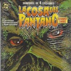 Cómics: LA COSA DEL PANTANO - MINISERIE 4 NºS - COMPLETA - MUY BUEN ESTADO. Lote 207588105