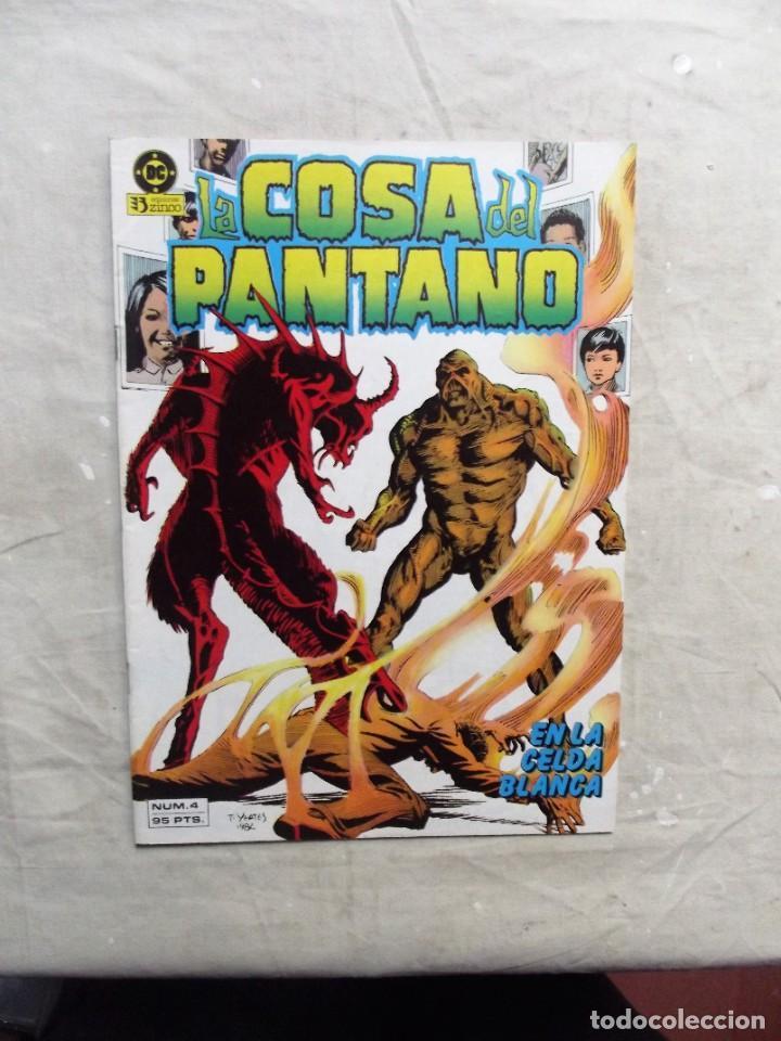 LA COSA DEL PANTANO Nº 4 EDICIONES ZINCO (Tebeos y Comics - Zinco - Cosa del Pantano)