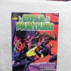 Cómics: LA COSA DEL PANTANO Nº 3 EDICIONES ZINCO. Lote 207649721