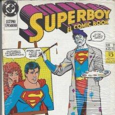 Cómics: SUPERBOY - EL COMIC BOOK - 7 NºS GRAPA - COMPLETA - BUEN ESTADO. Lote 207686361