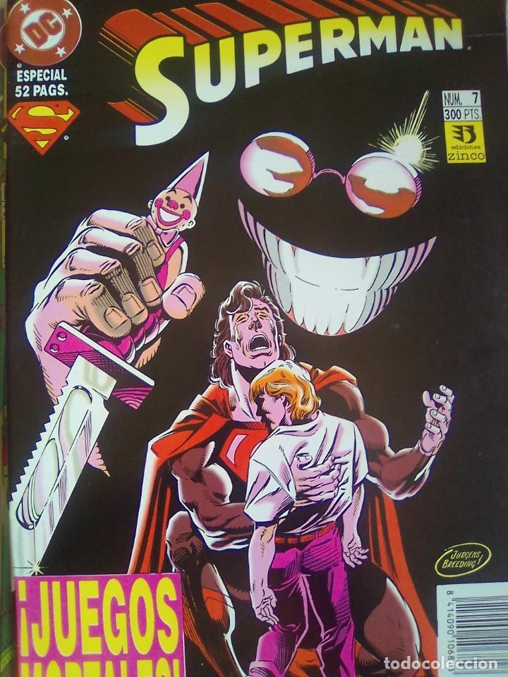 SUPERMAN - 7 / PILA 2 (Tebeos y Comics - Zinco - Retapados)