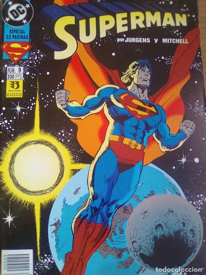 SUPERMAN - 9 / PILA 2 (Tebeos y Comics - Zinco - Retapados)