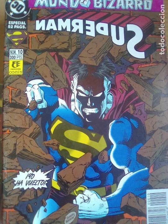SUPERMAN - 10 / PILA 2 (Tebeos y Comics - Zinco - Retapados)