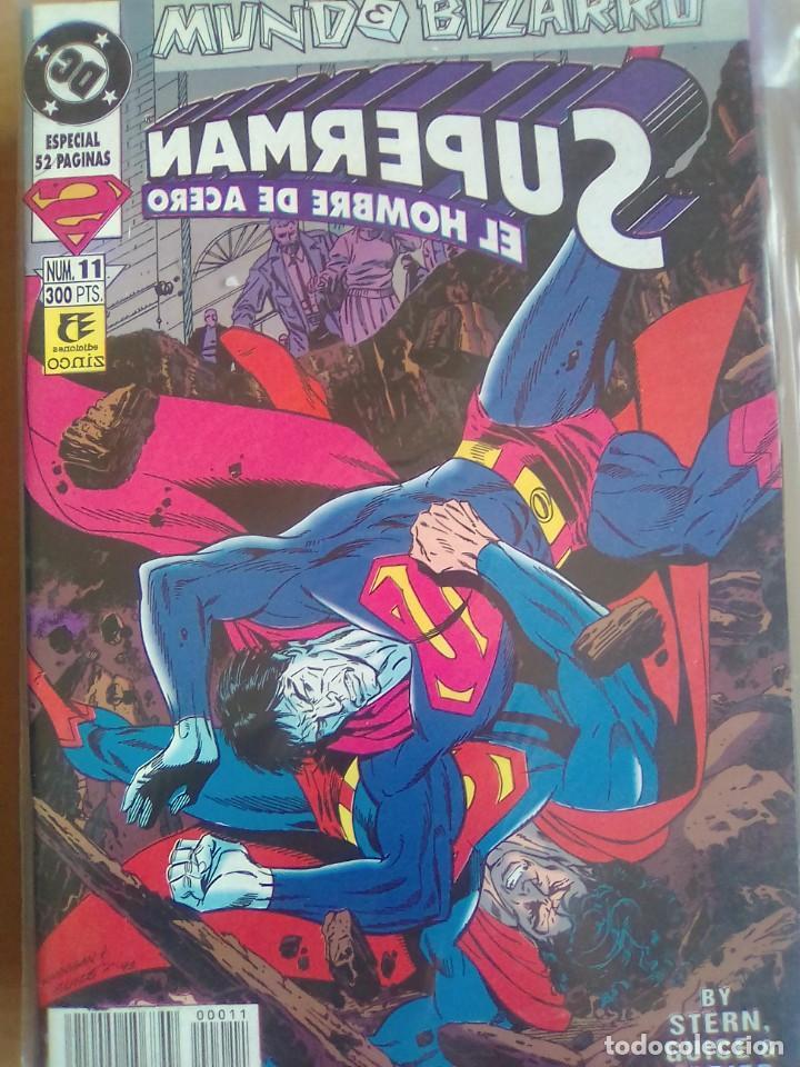 SUPERMAN EL HOMBRE DE ACERO 11 / PILA 2 (Tebeos y Comics - Zinco - Retapados)