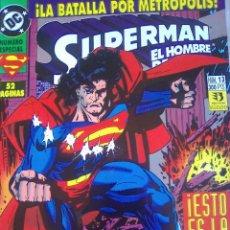 Cómics: SUPERMAN EL HOMBRE DE ACERO 13 / PILA 2. Lote 207872586