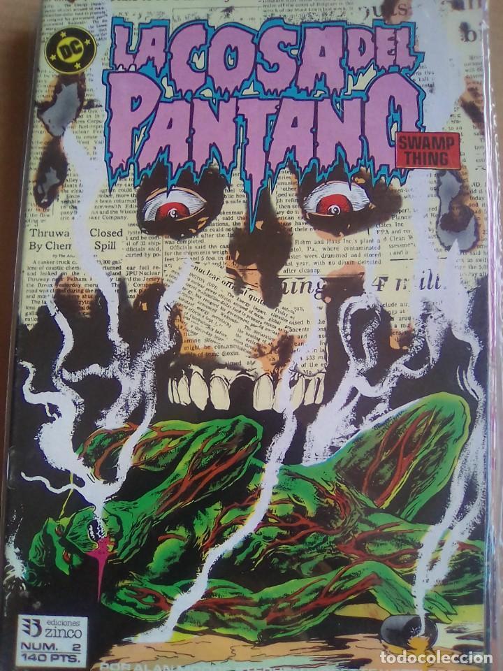 LA COSA DEL PANTANO 2 / PILA 2 (Tebeos y Comics - Zinco - Cosa del Pantano)