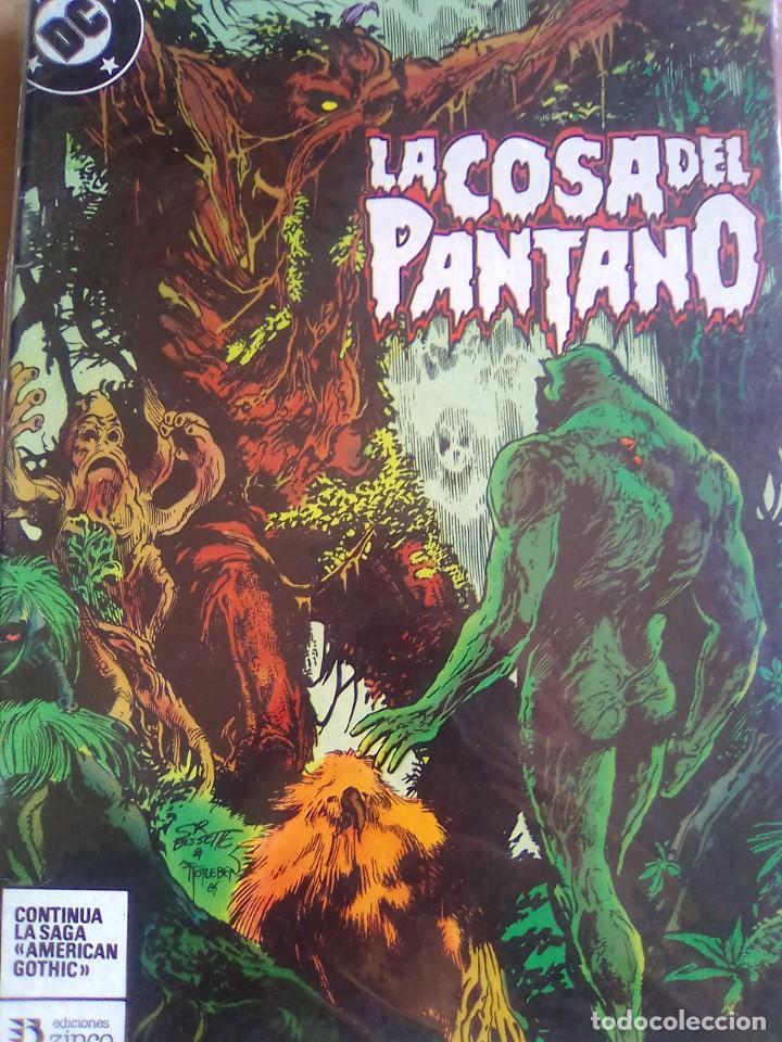 LA COSA DEL PANTANO 10 / PILA 2 (Tebeos y Comics - Zinco - Cosa del Pantano)