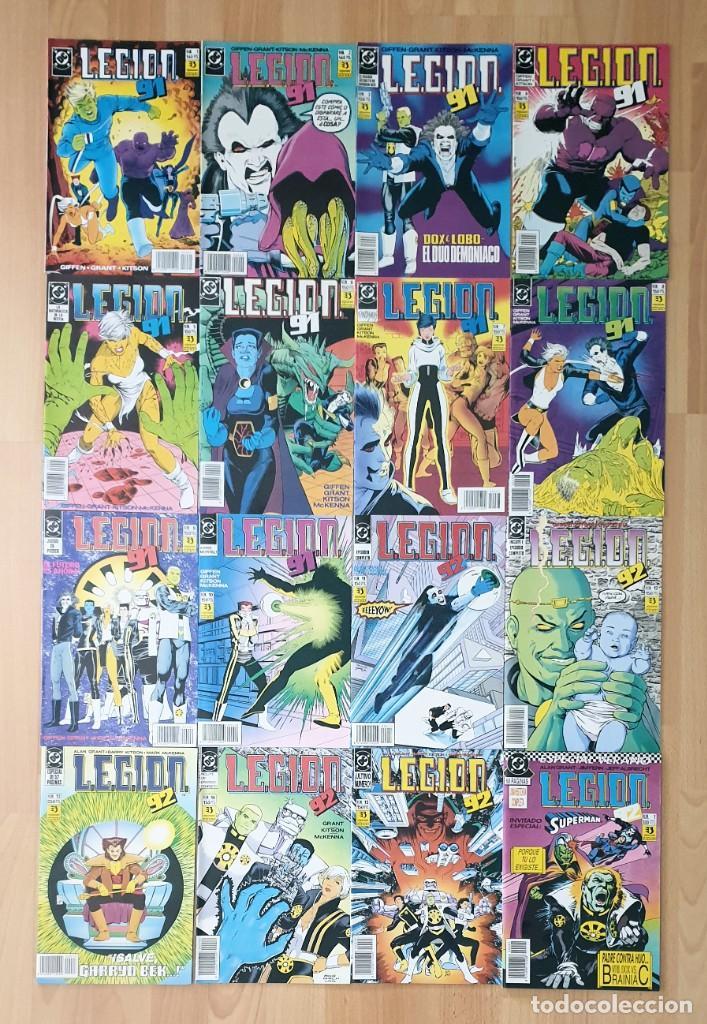 LEGION 91 / LEGION 92 DE KEITH GIFFEN. COMPLETA 15 COMICS + ESPECIAL. ZINCO 1991 (Tebeos y Comics - Zinco - Legión 91)