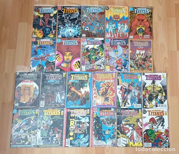 NUEVOS TITANES V2 DE MARV WOLFMAN & GEORGE PEREZ COMPLETA 41 COMICS + 1 ESP. ZINCO 1989 (Tebeos y Comics - Zinco - Nuevos Titanes)