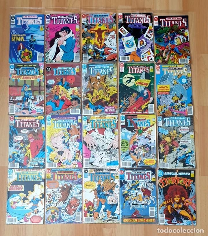 Cómics: NUEVOS TITANES V2 de Marv Wolfman & George Perez Completa 41 comics + 1 esp. Zinco 1989 - Foto 2 - 208038232