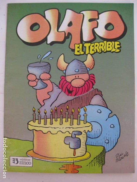 OLAFO EL TERRIBLE Nº1 -ZINCO (Tebeos y Comics - Zinco - Otros)