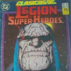 Cómics: CLÁSICOS DC 22 LEGIÓN DE SUPERHEROES / PILA 2. Lote 208051597