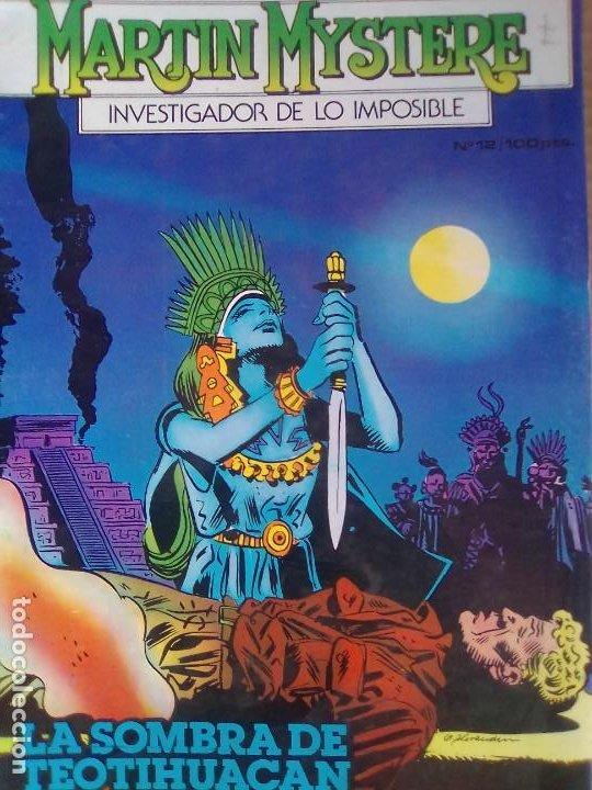 MARTIN MYSTERE 12 / PILA 2 (Tebeos y Comics - Zinco - Otros)