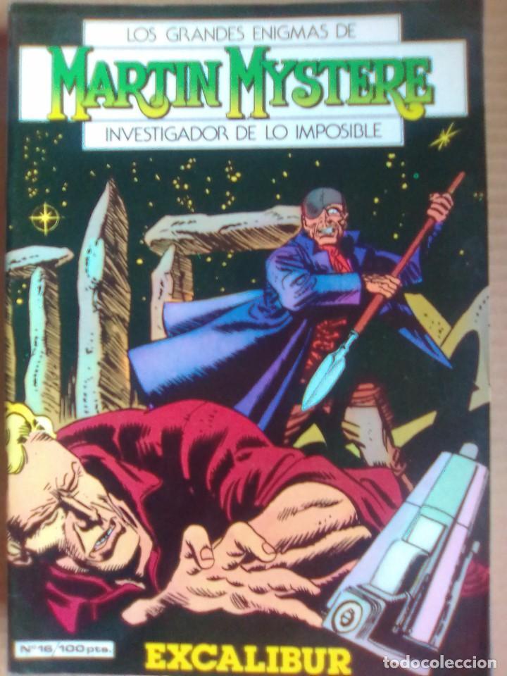 MARTIN MYSTERE 16 / PILA 2 (Tebeos y Comics - Zinco - Otros)
