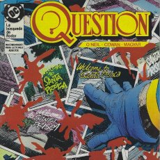 Cómics: QUESTION Nº 10. DENNIS O´NEIL.EDICIONES ZINCO. AÑO 1988. Lote 208072063