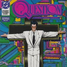 Cómics: QUESTION Nº 11. DENNIS O´NEIL.EDICIONES ZINCO. AÑO 1988. Lote 241951835