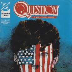 Cómics: QUESTION Nº 14. DENNIS O´NEIL.EDICIONES ZINCO. AÑO 1988. Lote 208072268