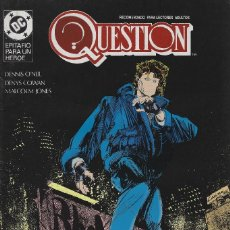 Cómics: QUESTION Nº 15. DENNIS O´NEIL.EDICIONES ZINCO. AÑO 1988. Lote 208072327
