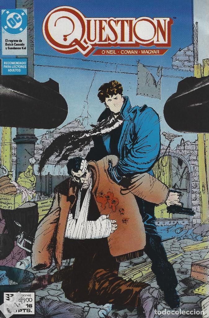 QUESTION Nº 16. DENNIS O´NEIL.EDICIONES ZINCO. AÑO 1988 (Tebeos y Comics - Zinco - Question)