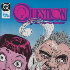 Cómics: QUESTION Nº 19. DENNIS O´NEIL.EDICIONES ZINCO. AÑO 1988. Lote 208072448