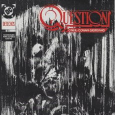 Cómics: QUESTION Nº 21. DENNIS O´NEIL.EDICIONES ZINCO. AÑO 1988. Lote 208072551