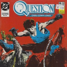 Cómics: QUESTION Nº 22. DENNIS O´NEIL.EDICIONES ZINCO. AÑO 1988. Lote 208072628