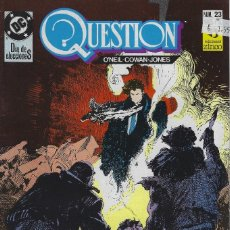 Cómics: QUESTION Nº 23. DENNIS O´NEIL.EDICIONES ZINCO. AÑO 1988. Lote 208072711