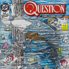 Cómics: QUESTION Nº 24. DENNIS O´NEIL.EDICIONES ZINCO. AÑO 1988. Lote 208072755
