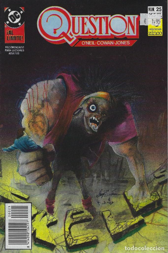 QUESTION Nº 25. DENNIS O´NEIL.EDICIONES ZINCO. AÑO 1988 (Tebeos y Comics - Zinco - Question)
