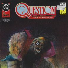 Cómics: QUESTION Nº 25. DENNIS O´NEIL.EDICIONES ZINCO. AÑO 1988. Lote 208072822