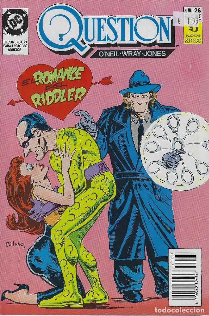 QUESTION Nº 26. DENNIS O´NEIL.EDICIONES ZINCO. AÑO 1988 (Tebeos y Comics - Zinco - Question)