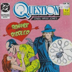 Cómics: QUESTION Nº 26. DENNIS O´NEIL.EDICIONES ZINCO. AÑO 1988. Lote 208072868