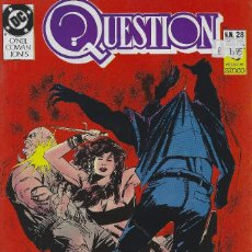 Cómics: QUESTION Nº 28. DENNIS O´NEIL.EDICIONES ZINCO. AÑO 1988. Lote 208072992