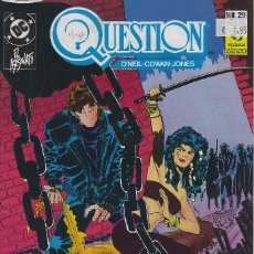 Cómics: QUESTION Nº 29. DENNIS O´NEIL.EDICIONES ZINCO. AÑO 1988. Lote 208073050