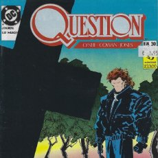 Cómics: QUESTION Nº 30. DENNIS O´NEIL.EDICIONES ZINCO. AÑO 1988. Lote 208073117