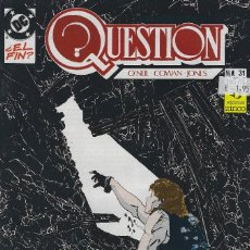 Cómics: QUESTION Nº 31. DENNIS O´NEIL.EDICIONES ZINCO. AÑO 1988. Lote 208073155