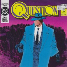 Cómics: QUESTION Nº 34. DENNIS O´NEIL.EDICIONES ZINCO. AÑO 1988. Lote 208073266