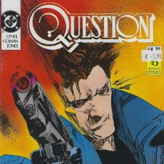 Cómics: QUESTION Nº 35. DENNIS O´NEIL.EDICIONES ZINCO. AÑO 1988. Lote 208073316